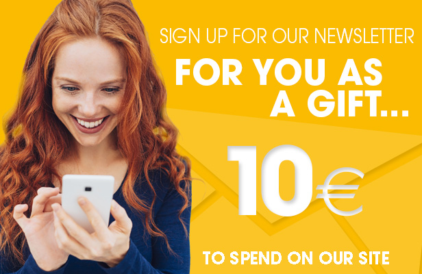 we give five euros to buy natural and organic cosmetics